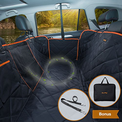 iBuddy Dog Seat Cover for Back Seat of Cars/Trucks/SUV